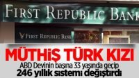 Amerikan Bankasını Türk Kızı Kurtaracak
