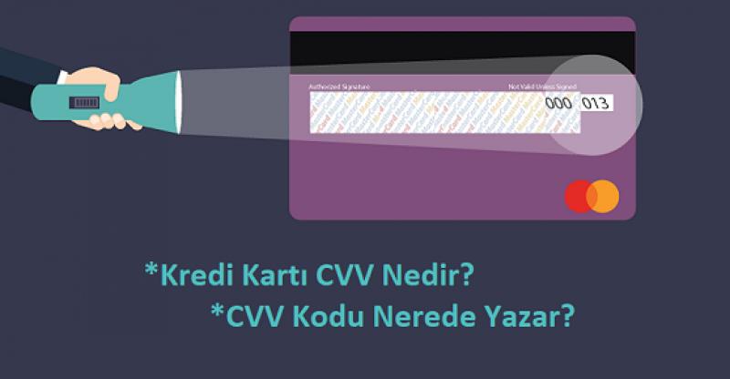 CVV Kodu