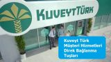 Kuveyt Türk Müşteri Hizmetleri Direk Bağlanma Tuşları