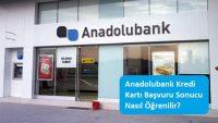 Anadolubank Kredi Kartı Başvuru Sonucu Nasıl Öğrenilir?