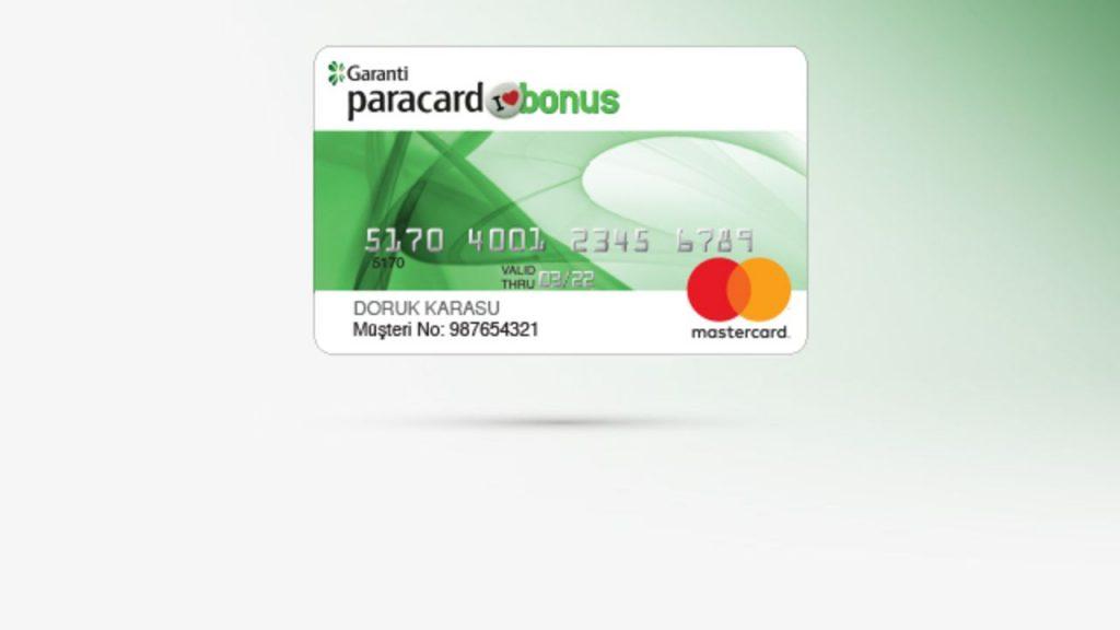garanti bbva kart limit arttirim talebi