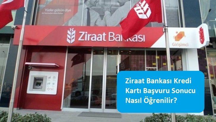Ziraat Bankası Kredi Kartı Başvuru Sonucu Nasıl Öğrenilir?