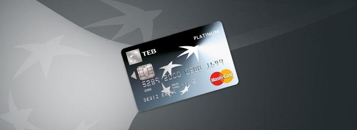 sms ile teb kredi karti limit artirma