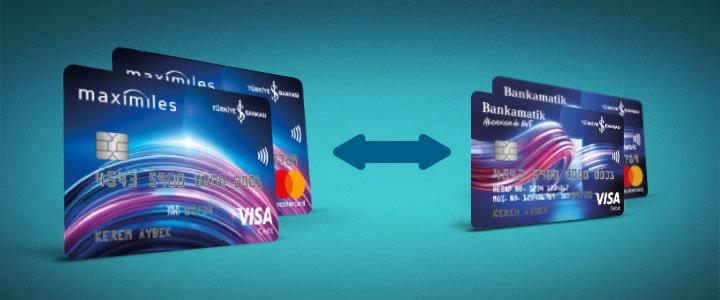 is bankasi mobil bankaciliktan kredi karti alisveris ayarlari