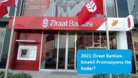 2021 Ziraat Bankası Emekli Promosyonu Ne Kadar?
