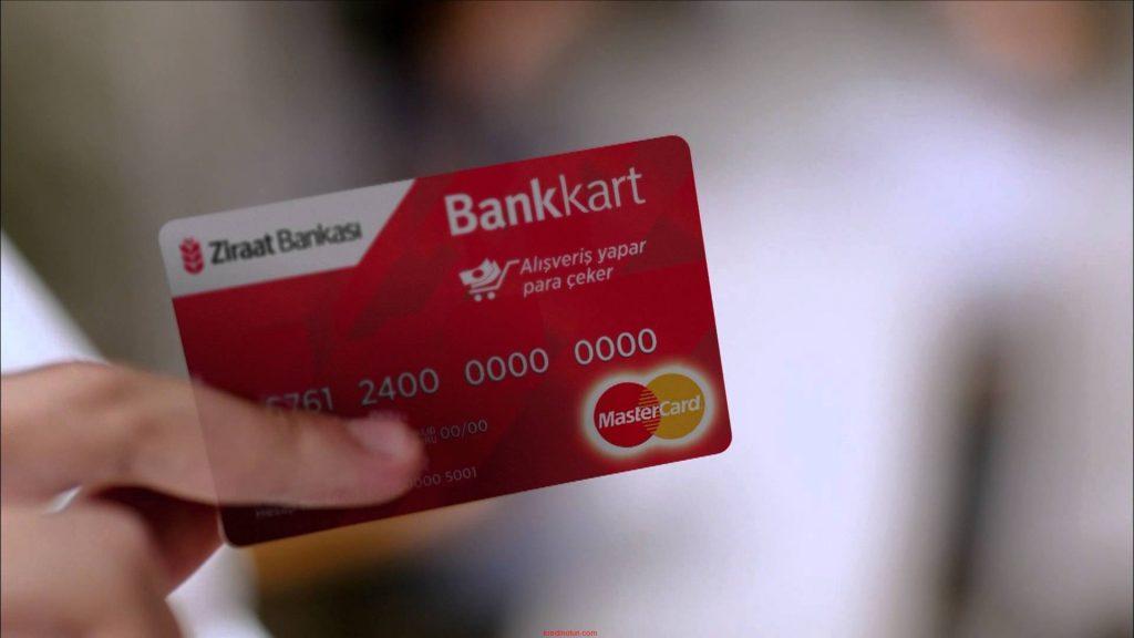 ziraat bankasi kredi karti ayarlari nasil degistirilir