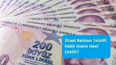 Ziraat Bankası Taksitli Nakit Avans Nasıl Çekilir?