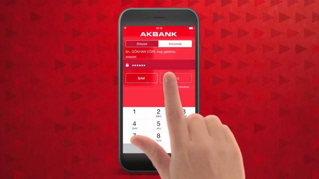 akbank direkt mobil ile borsa hesabi