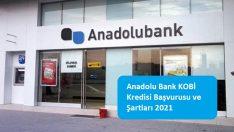Anadolu Bank KOBİ Kredisi Başvurusu ve Şartları 2021
