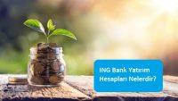 ING Bank Yatırım Hesapları Nelerdir?