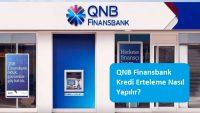 QNB Finansbank Kredi Erteleme Nasıl Yapılır?