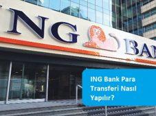ING Bank Para Transferi Nasıl Yapılır?