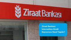 Ziraat Bankası İnternetten Kredi Başvurusu Nasıl Yapılır?