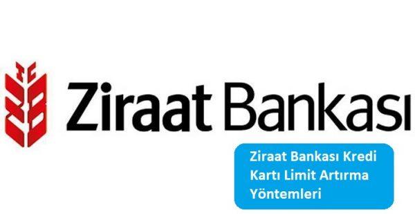 Ziraat Bankası Kredi Kartı Limit Artırma Yöntemleri